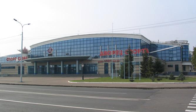 Дворец спорта на Московской